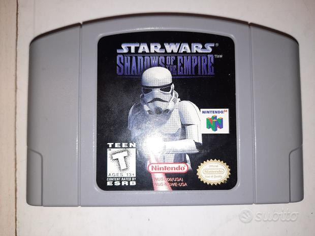 Star Wars Shadows of the Empire N64 USA