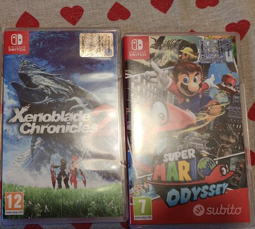 2 giochi per Nintendo switch