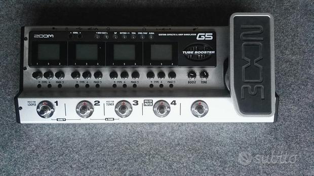 Pedaliera Zoom g5