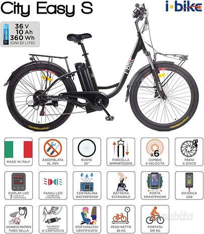 I-Bike City Easy S ITA99, Bici elettrica [NUOVA]