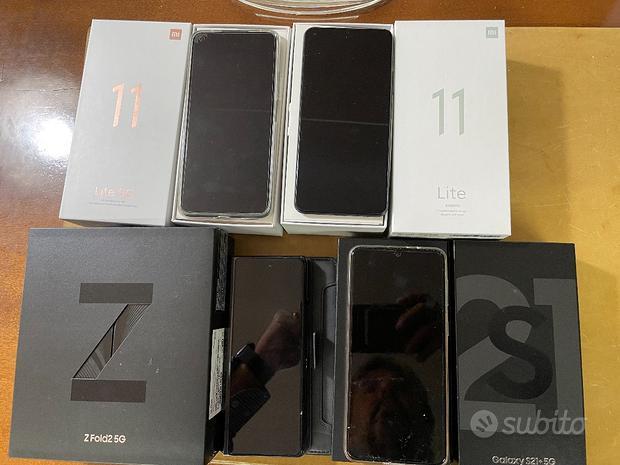 Samsung S21+ S. Fold 2 Xiaomi 11 Lite e 11 Lite 5