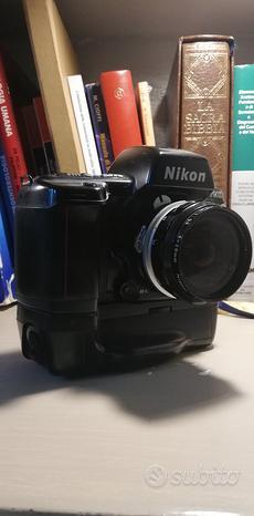 Nikon f90x con mb10 fuji s3 pro