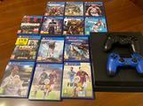 PlayStation 4 - Ps4 - 1TB - 2 joystick - giochi