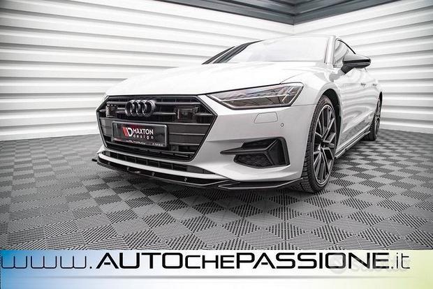 Splitter/Spoiler anteriore V1 per Audi A7 C8 201