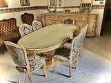 TAVOLO con sedie sala da pranzo/salone