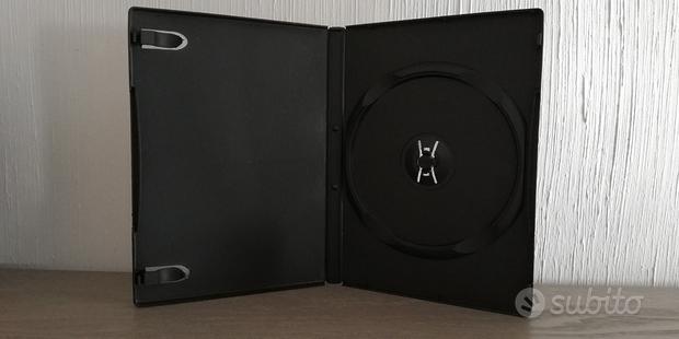 CUSTODIE NERE 14mm per CD DVD e BLURAY a 0,20