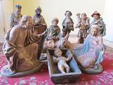 "Presepe antico ""da Cattedrale"" cm.50"