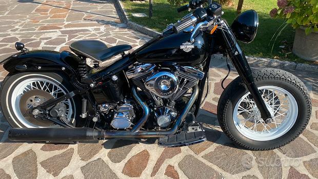 Harley Davidson Bobber Fat Boy
