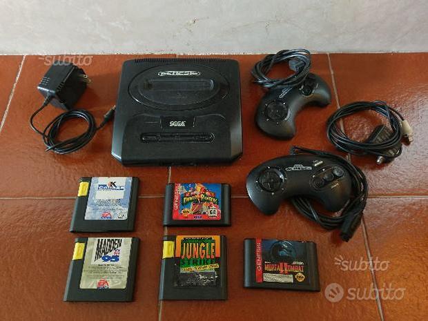 Console Sega Genesis Mega Drive ver USA da testare