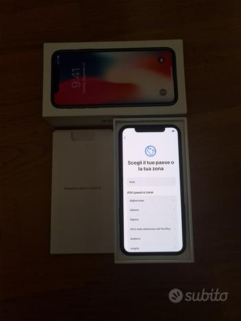 IPhone X 256gb Space Gray - perfetto