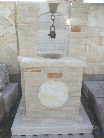 Pozzi in Pietra di Trani Ornamentali