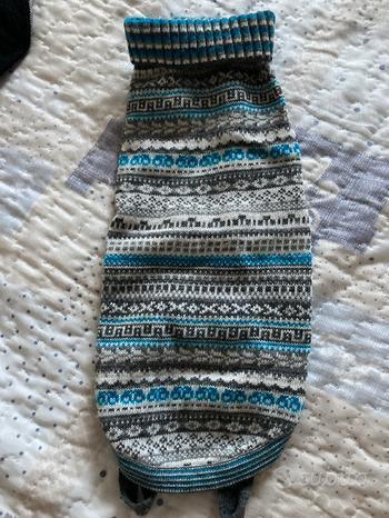 Maglione per cane 27 cm veste stretto