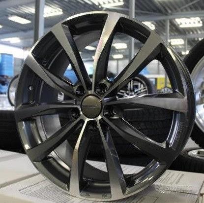 Cerchi in Lega Fiat 500L Tipo Doblo Ulisse 17 Wolf