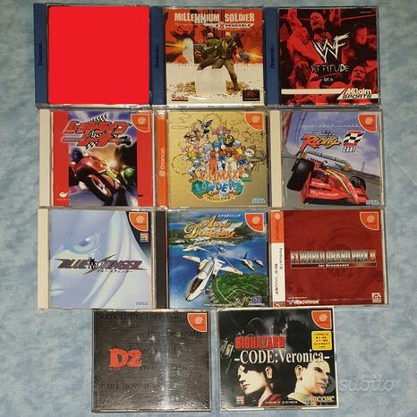 Lotto giochi e accessori console Sega Dreamcast
