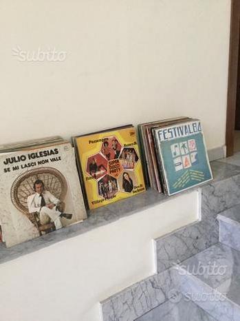 Lp 33 giri vinili dischi Sanremo julio igliesias