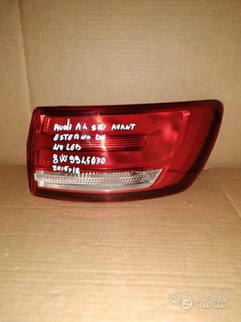 Fanale Posteriore Audi A4 Avant Sw Destro Esterno