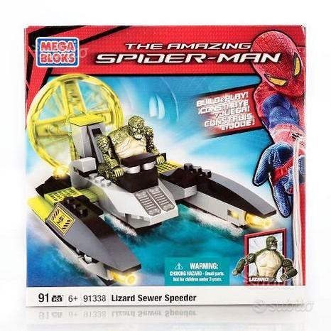 Mega bloks the amazing spider-man lizard sewer spe