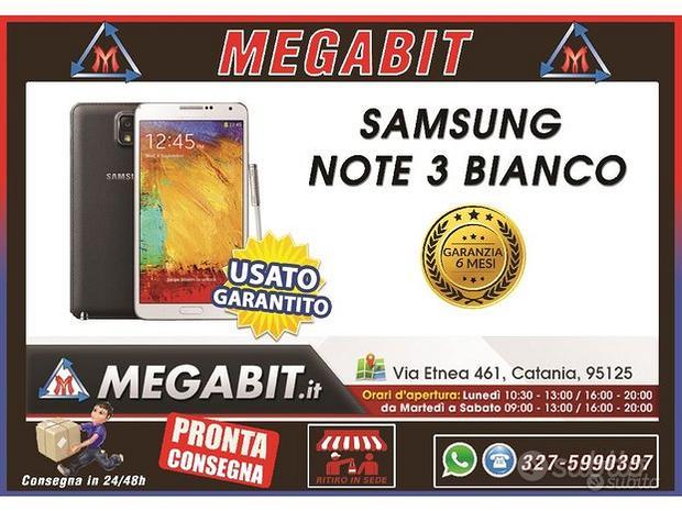 Samsung note 3 bianco