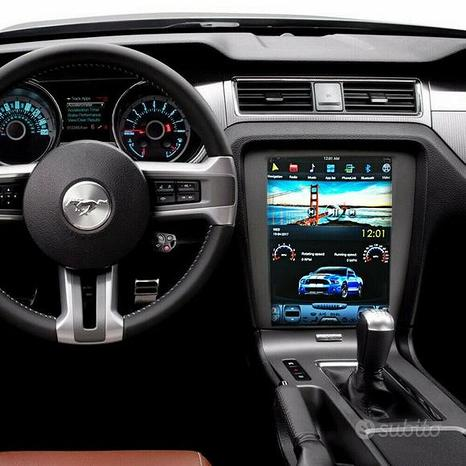 Navigatore ford mustang 12,1 android tesla 2010-4