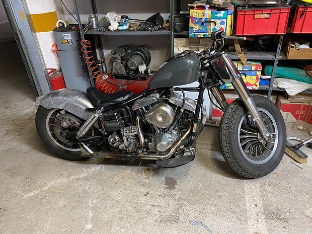 Harley Davidson Shovel FLH