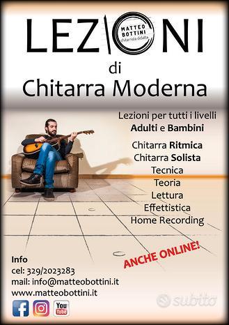 Lezioni di chitarra Castelli Romani