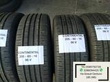 Gomme Usate SEMI-NUOVE CONTINENTAL 205 60 16