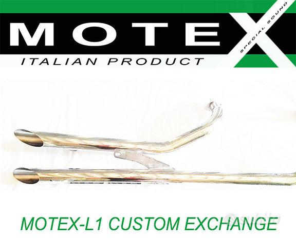 Custom motex scarico honda honda vf 750 vt shadow