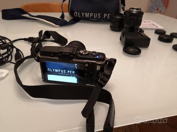 Set completo Olympus Pen EP-3 + Obiettivi