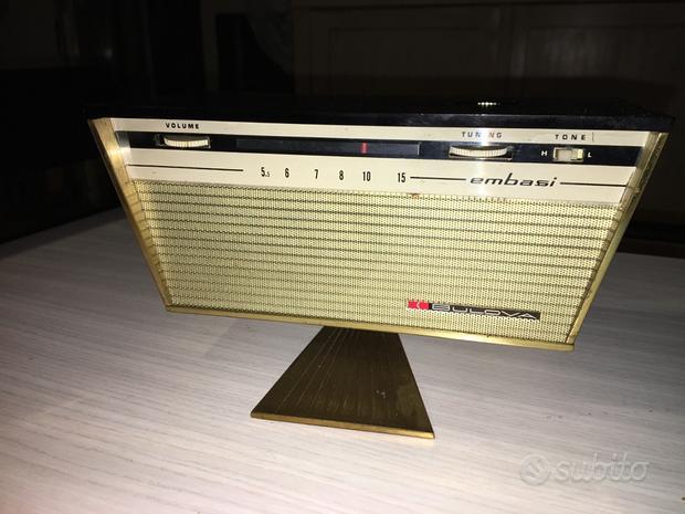 Radio Sveglia BULOVA EMBASI-Woodside (NY)-1963-
