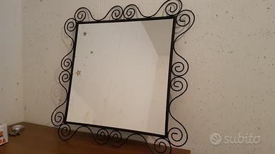 Specchio Ikea Cornice In Metallo 56cm X 56cm Arredamento E Casalinghi In Vendita A Udine