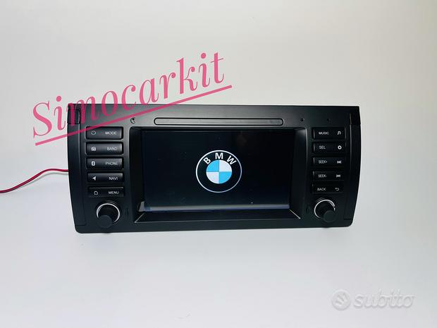 Autoradio Navigatore Android 10 Per BMW X5 E38 E39