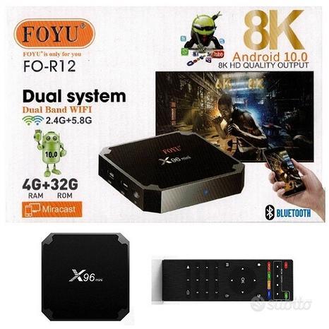 Tv box smart X96 mini android 10.0 8K