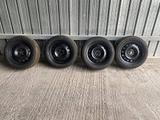 4 cerchi ferro 4 gomme 205 55 r16 fiat alfa lancia