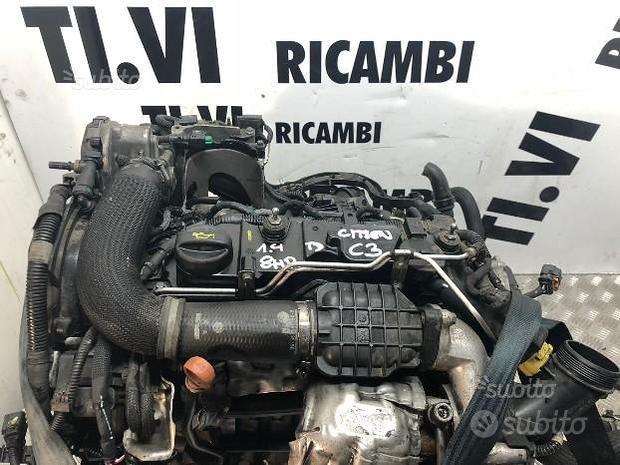 Motore citroen c3 1.4 td 2013 8hr