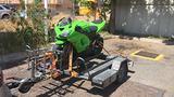 Trasporto Moto con carrello