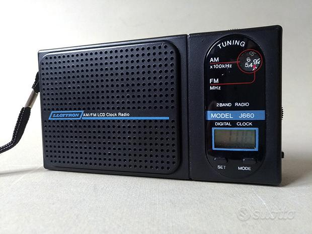 Radio orologio Lloytron vintage anni 90