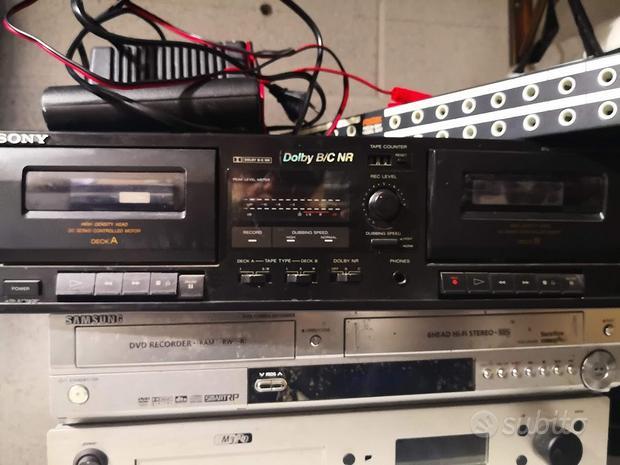 Doppia piastra cassette Sony