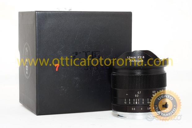 Obiettivo 7artisans 12mm f/2.8 per Sony E