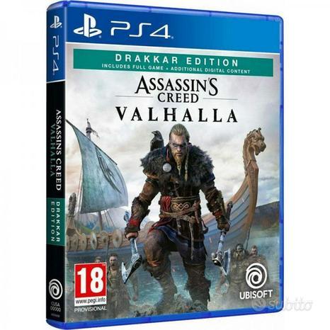 Assassin's creed valhalla ps4 drakkar edition