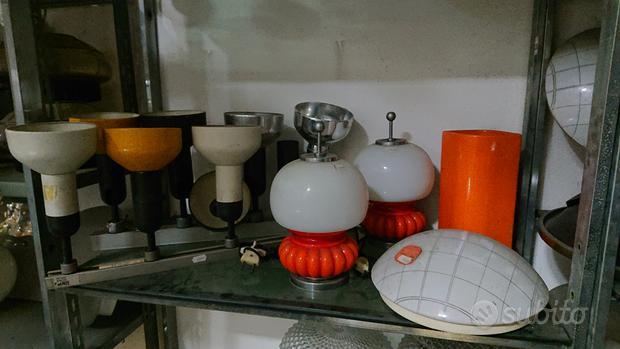 Lampade lampadari modernariato design d'epoca