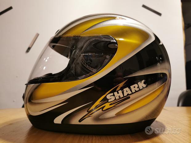 Casco moto Shark S600 Fizz giallo nero Tg. XS 54
