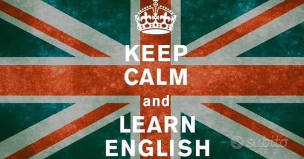 Lezioni di INGLESE - Valpolicella (e on line)