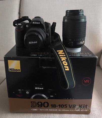 Nikon D90 - corpo+2 obiettivi