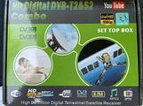 Decoder HD Digital DVB-T2&S2 Combo