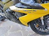 Yamaha r1 Caduta