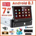 Autoradio 1 Din Android 8 Display da 7 Estraibile