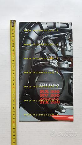 Gilera RX 200 - RX 200 Arizona-R 200 1984 depliant
