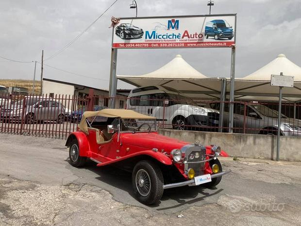 Mercedes gazelle replica skk 1929 asi storica