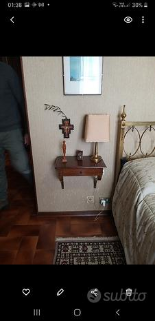 Coppia di lampade da comodino vintage