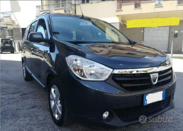 Dacia renault lodgy 7 posti o furgone